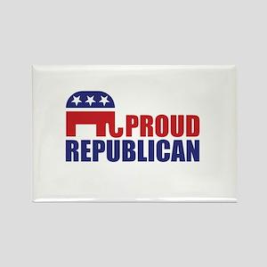 Proud Republican Elephant Logo Magnets