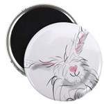 Bunny smiles Magnets