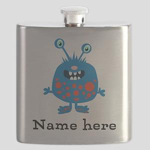 Blue Monster Flask