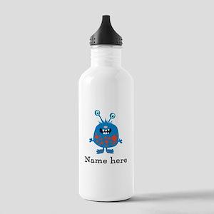 Blue Monster Stainless Water Bottle 1.0L