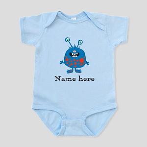 Blue Monster Infant Bodysuit