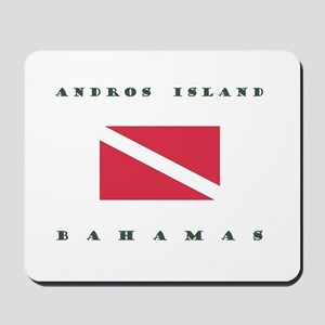Andros Island Bahamas Dive Mousepad