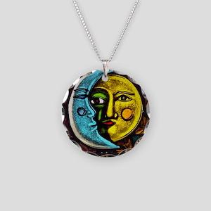 Hatha Necklace Circle Charm