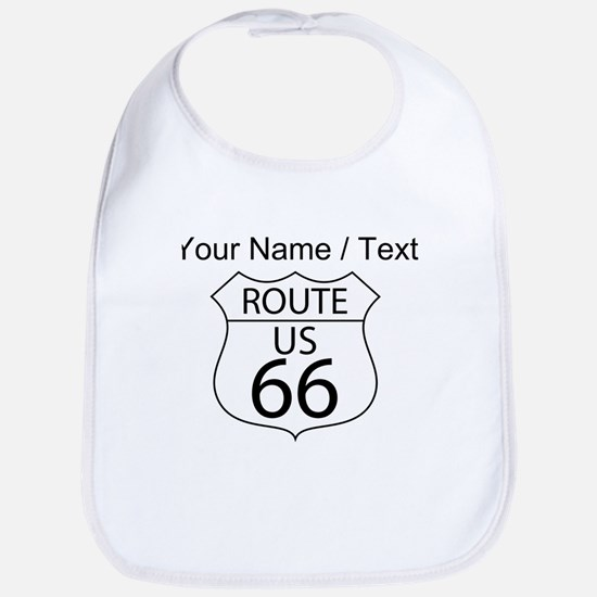 Custom U.S. Route 66 Sign Bib
