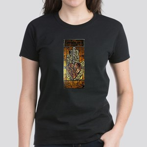 Symbol of Trust Stained Glass Panel T-Shirt
