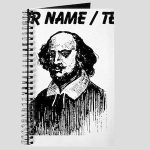 Custom Shakespeare Portrait Journal