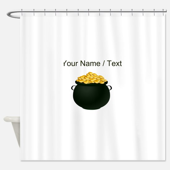 Custom Pot Of Gold Shower Curtain