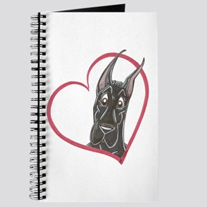 C Blk Heart Journal