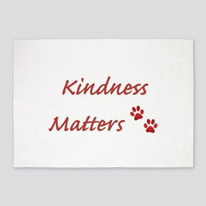 Kindness Matters 5'x7'Area Rug