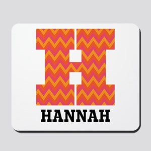 Personalized H Monogram Mousepad