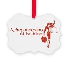 Fashion Law Blog Logo Picture Ornament