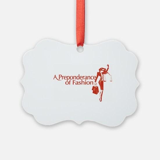 Fashion Law Blog Logo Ornament