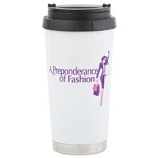 Fashion Law Blog Logo Stainless Steel Travel Mug