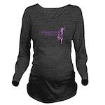 Fashion Law Blog Logo Long Sleeve Maternity T-Shir