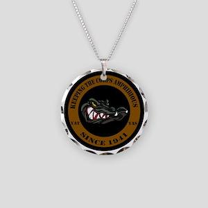 1941 Black Edition Camo Gato Necklace Circle Charm