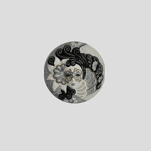 Venetian Mask Mini Button