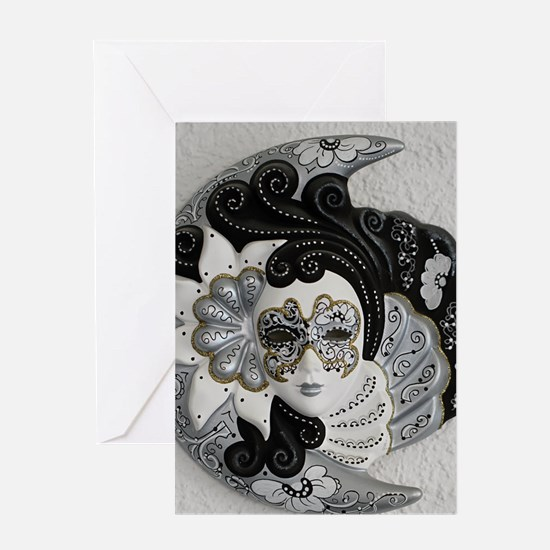 Venetian Mask Greeting Cards