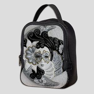 Venetian Mask Neoprene Lunch Bag