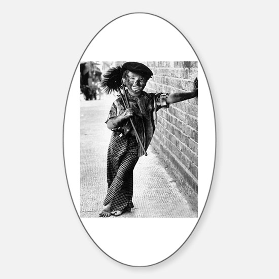 Victorian Chimney Sweep Decal