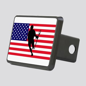 Lacrosse Flag IRock America Hitch Cover