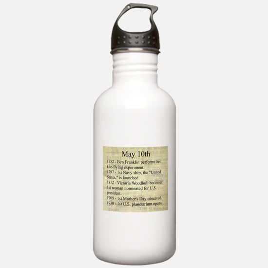 May 10th Water Bottle