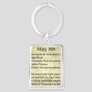 May 8th Keychains