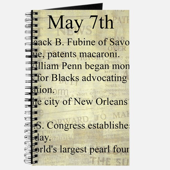 May 7th Journal