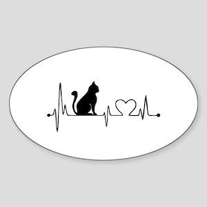 Cat HB Sticker
