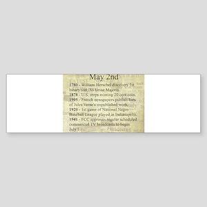 May 2nd Bumper Sticker