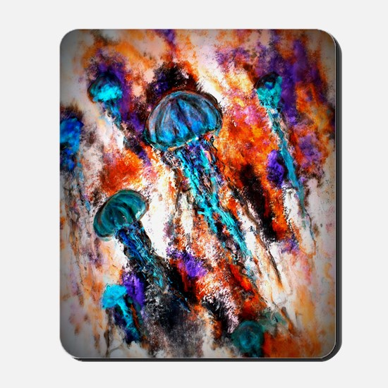 Jellyfish Electric Jump Mousepad