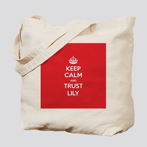 Trust Lily Tote Bag