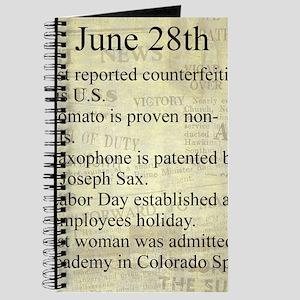 June 28th Journal