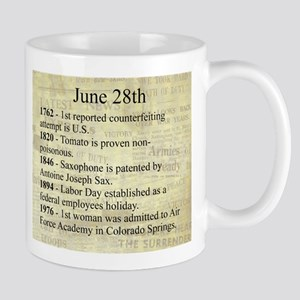 June 28th Mugs