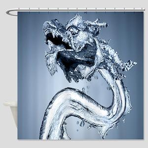 Water Dragon Shower Curtain