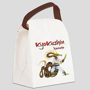 Kyokushin Dragon Canvas Lunch Bag