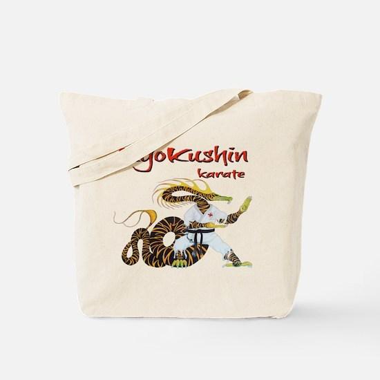 Kyokushin Dragon Tote Bag