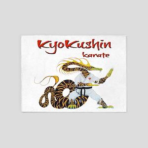 Kyokushin Dragon 5'x7'Area Rug