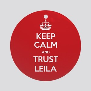 Trust Leila Ornament (Round)