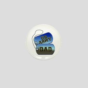 U.S. Army Dad Mini Button