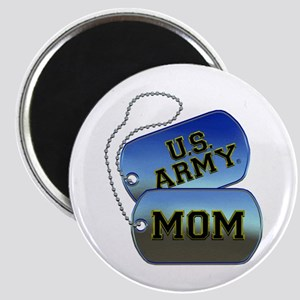 U.S. Army Mom Dog Tags Magnet