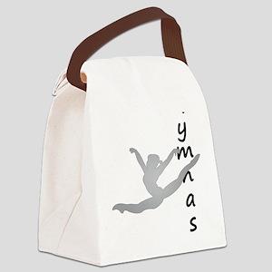 I Am A Gymnast Canvas Lunch Bag