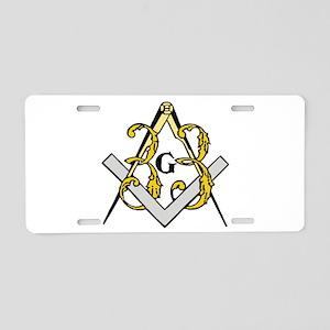 Lodge 33 Logo Aluminum License Plate