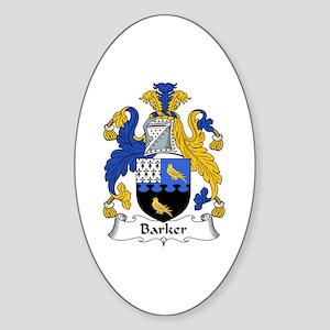Barker (Tipperary) Oval Sticker