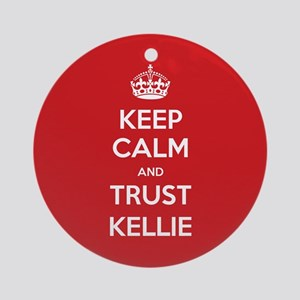 Trust Kellie Ornament (Round)
