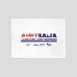 AUSTRALIA since 1901 5'x7'Area Rug