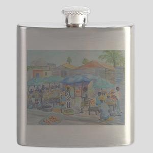 SHOPPING IN HAITI Flask