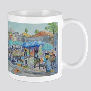 SHOPPING IN HAITI Mugs
