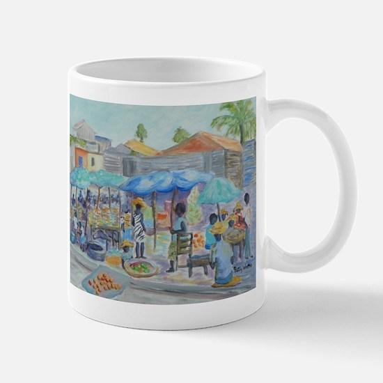 SHOPPING IN HAITI Mugs