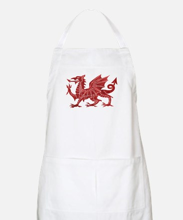 Welsh Red Dragon Apron