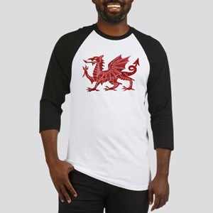 Welsh Red Dragon Baseball Jersey